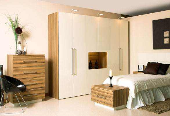 Fitted bedroom furniture limerick painted ivory walnut oak bedroom furniture for sale for Ivory painted bedroom furniture