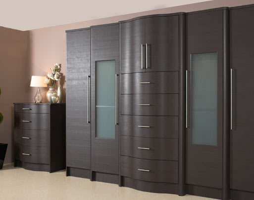 Bedroom design limerick dark oak embossed bedrooms for Bedroom furniture limerick