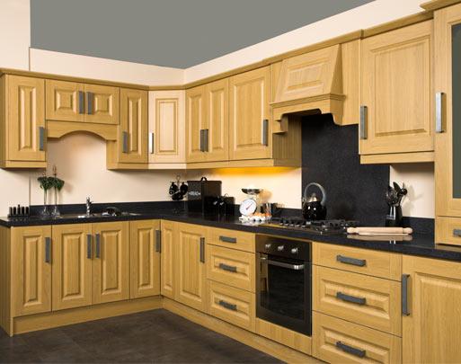 Lissa Oak Kitchens