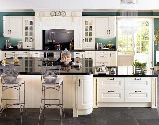 traditional kitchen furniture design limerick - sheriton ivory